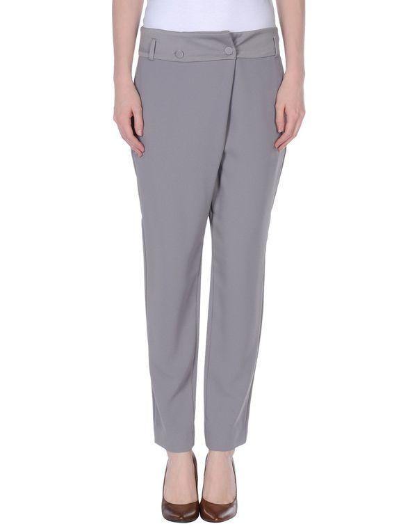 灰色 TWIN-SET SIMONA BARBIERI 裤装