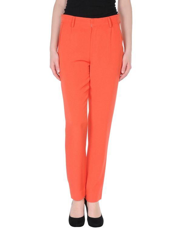 珊瑚红 CO|TE 裤装
