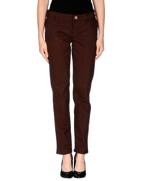 深棕色 GUESS 裤装