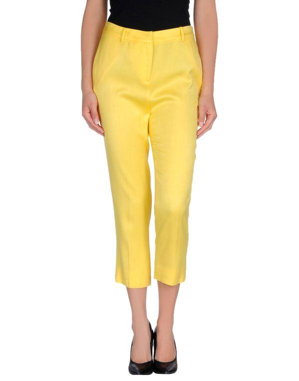 黄色 STELLA JEAN 七分裤