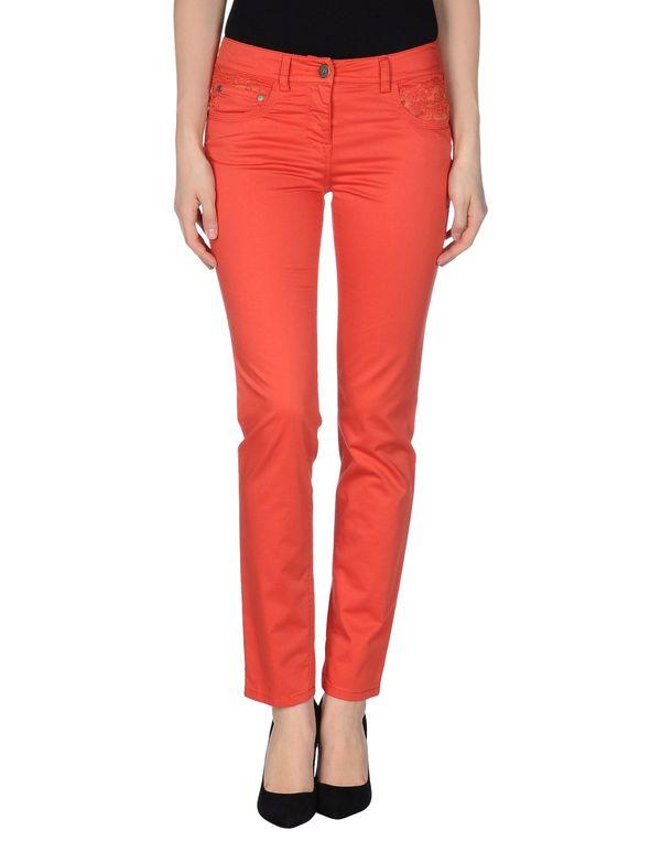 珊瑚红 SCERVINO STREET 裤装
