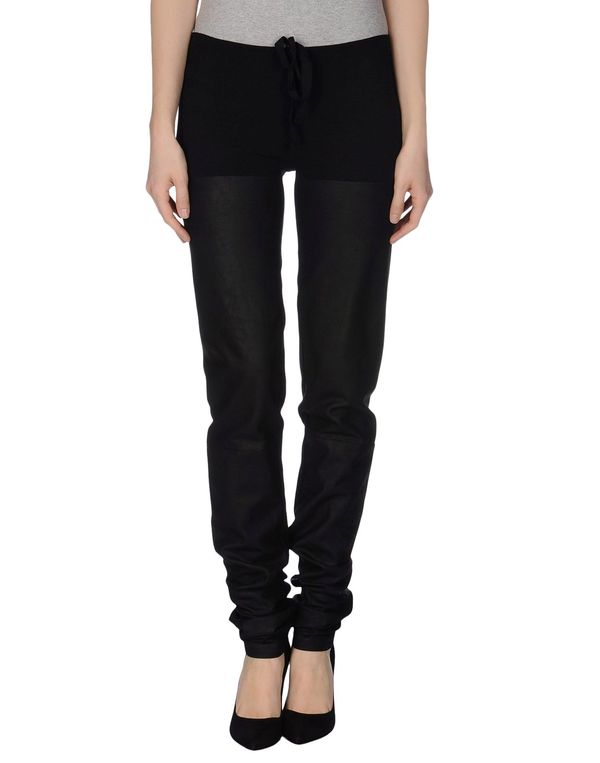 黑色 ANN DEMEULEMEESTER 裤装