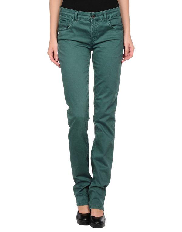 绿色 LIU •JO JEANS 裤装