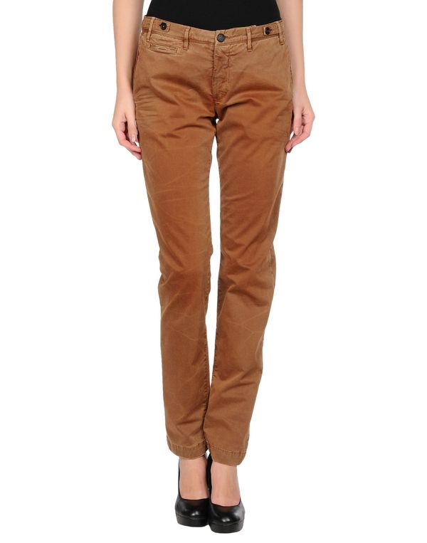 棕色 PATRIZIA PEPE 裤装