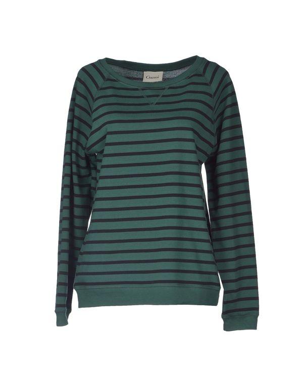 绿色 GANNI T-shirt
