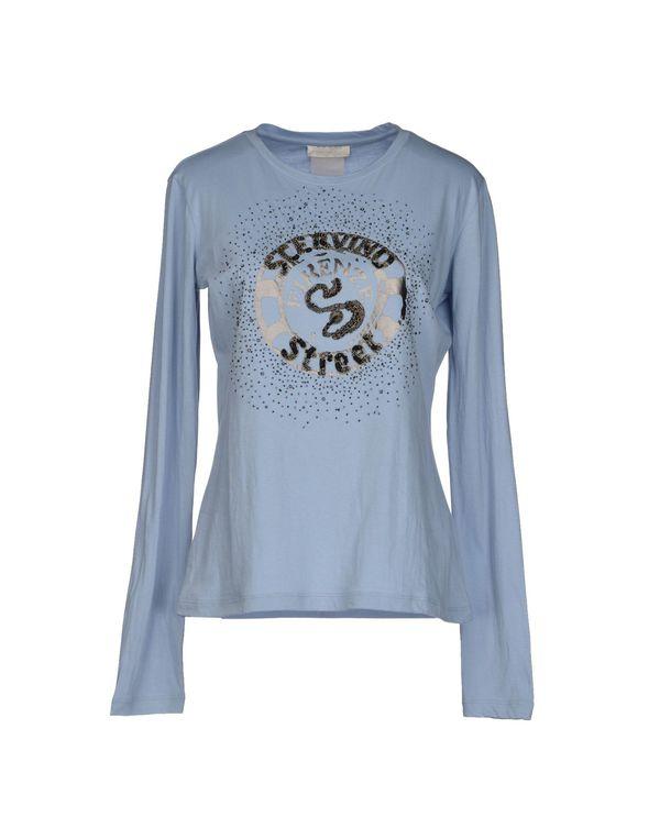 天蓝 SCERVINO STREET T-shirt