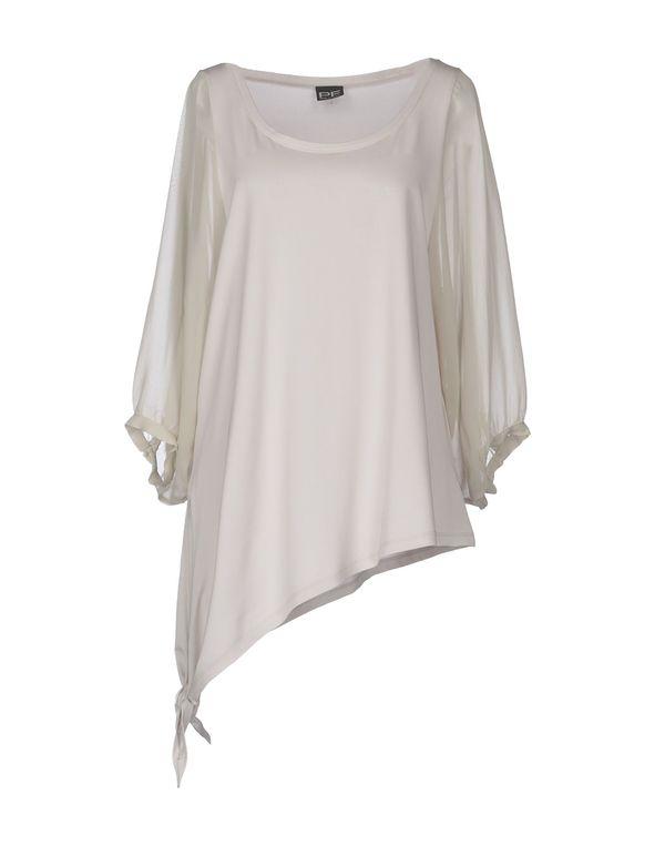 淡灰色 PF PAOLA FRANI 女士衬衫
