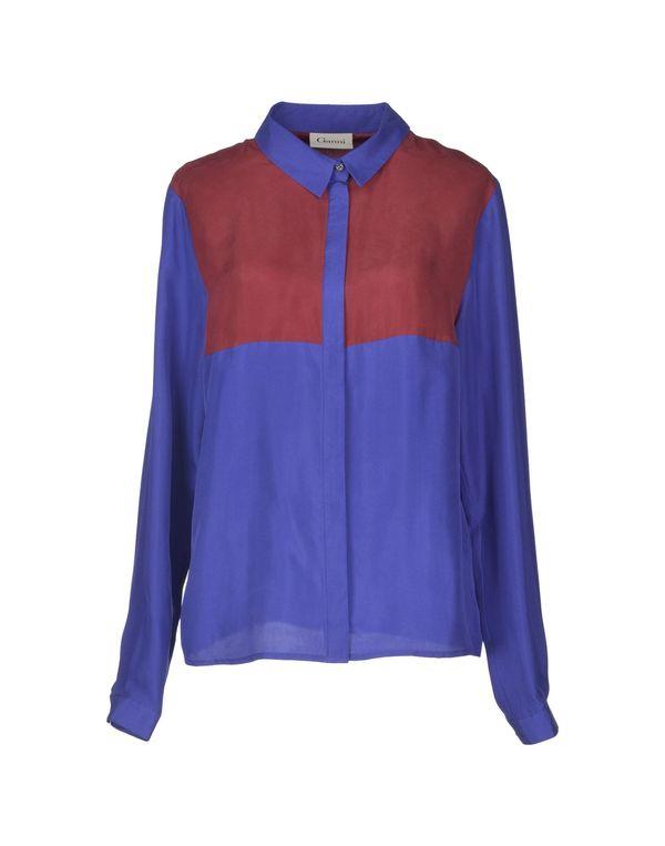 紫色 GANNI Shirt