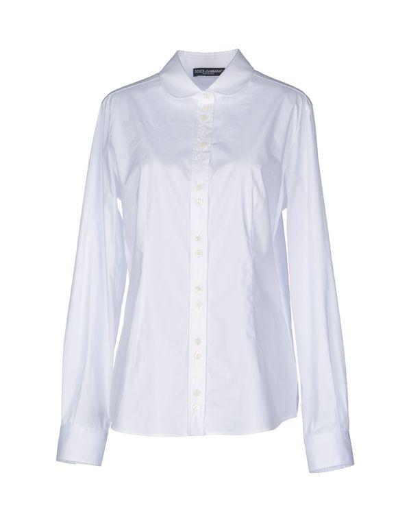 白色 DOLCE & GABBANA Shirt
