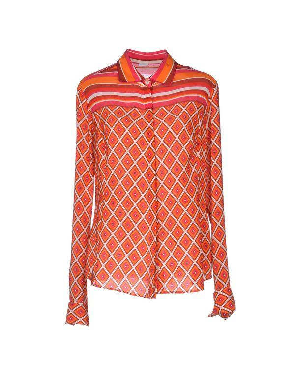 橙色 FAY Shirt