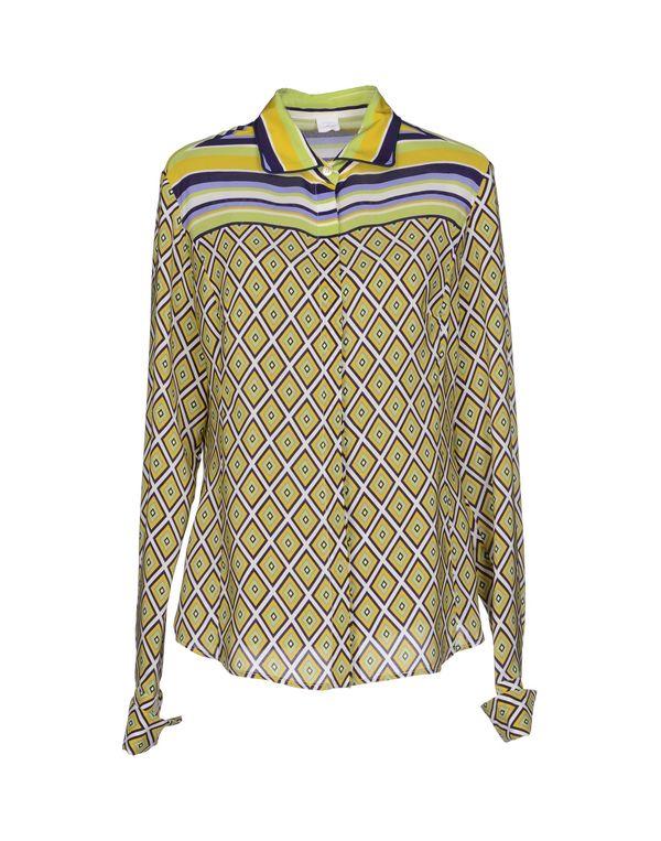 黄色 FAY Shirt