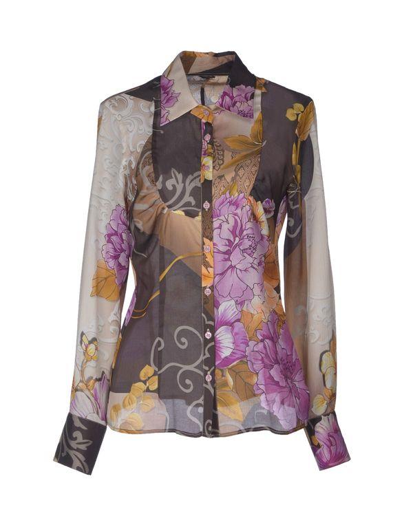 紫色 ROCCOBAROCCO Shirt