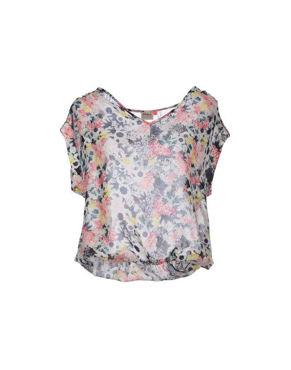 粉红色 ONLY 女士衬衫