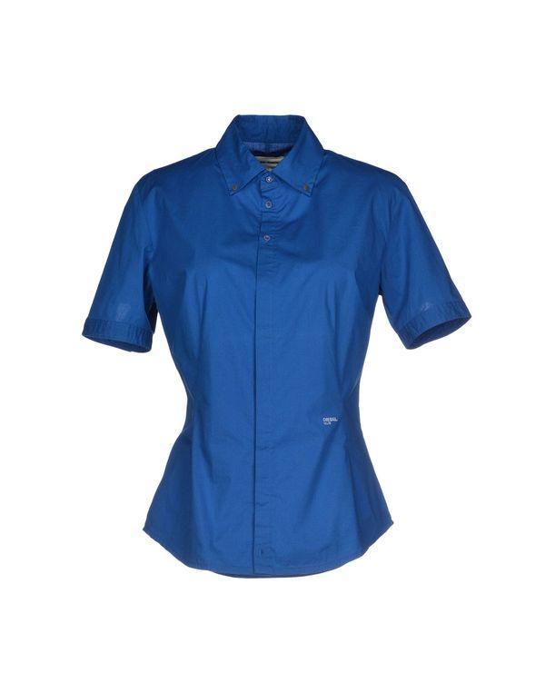 蓝色 DIESEL Shirt