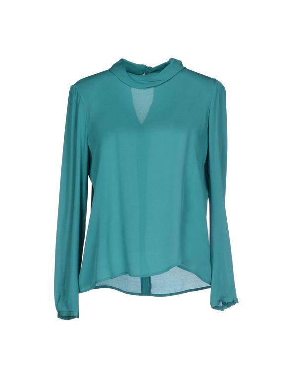 蓝绿色 TARA JARMON 女士衬衫