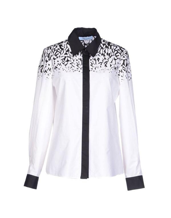 白色 BLUMARINE Shirt