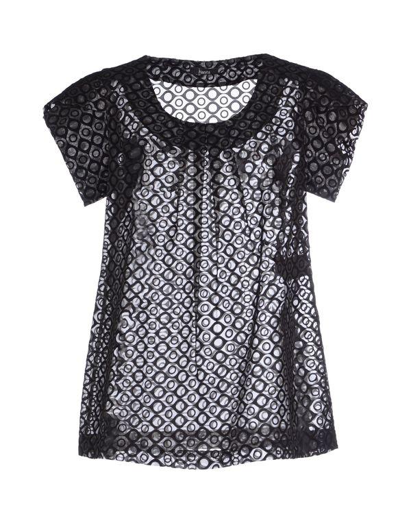 黑色 HANITA 女士衬衫