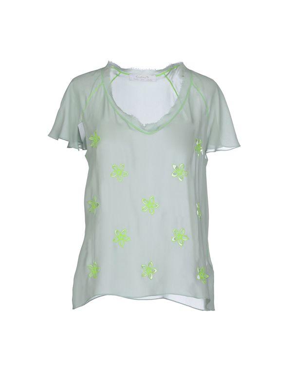 浅绿色 KRISTINA TI 女士衬衫