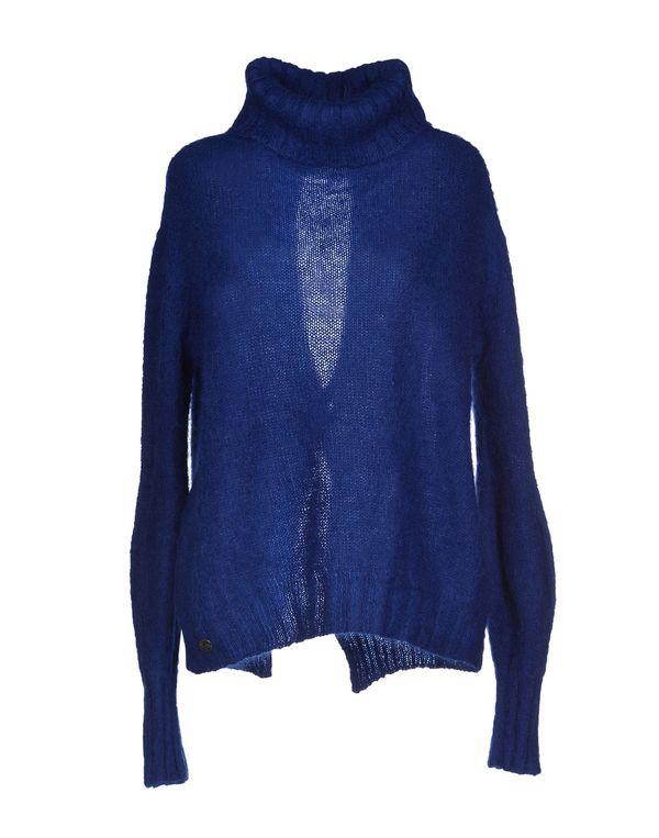 蓝色 MANILA GRACE 圆领针织衫