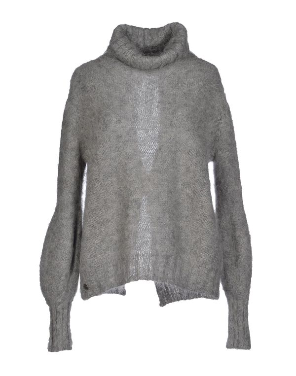 灰色 MANILA GRACE 圆领针织衫