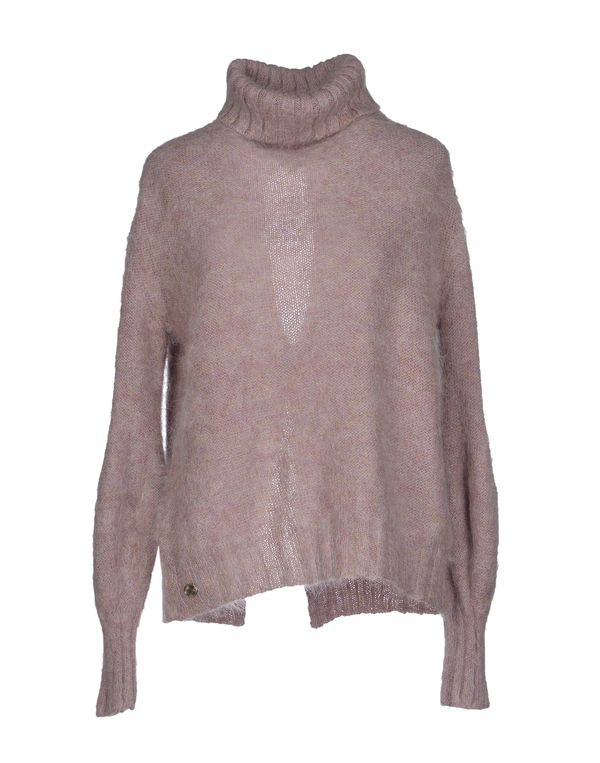 丁香紫 MANILA GRACE 圆领针织衫