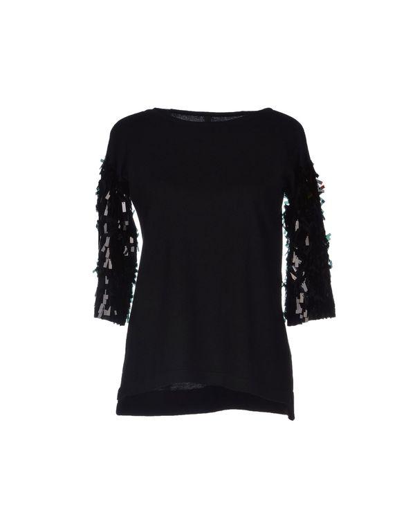 黑色 PIANURASTUDIO 套衫