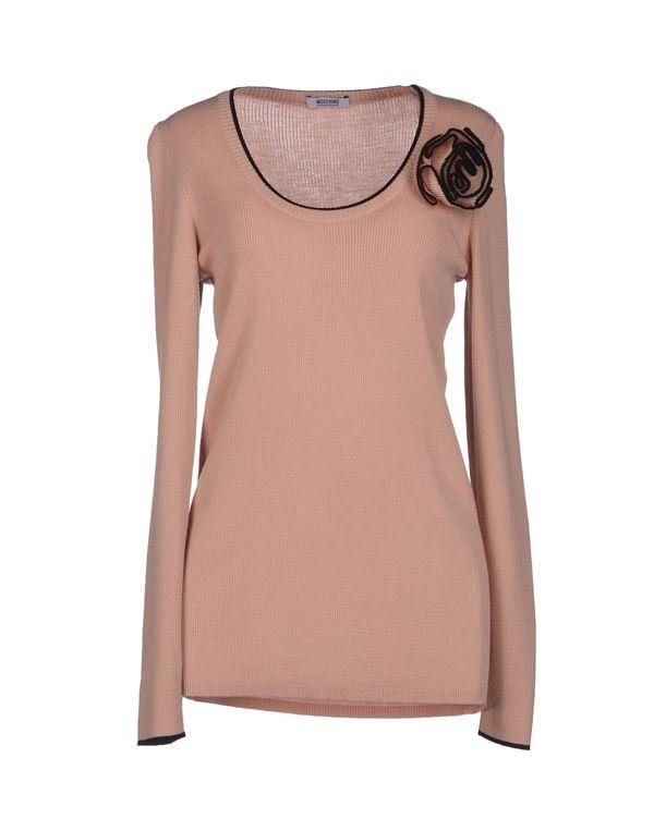 粉红色 MOSCHINO CHEAPANDCHIC 套衫