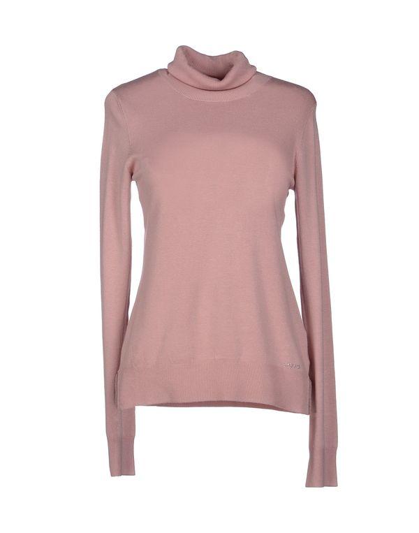 粉红色 LIU •JO 圆领针织衫