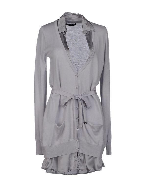 淡灰色 LIU •JO 针织开衫