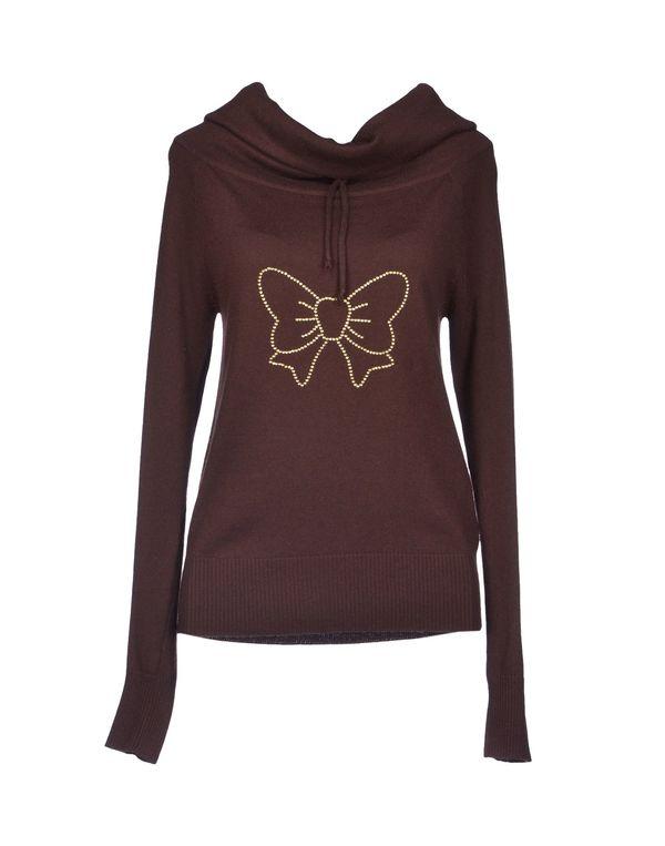 巧克力色 ATELIER FIXDESIGN 圆领针织衫