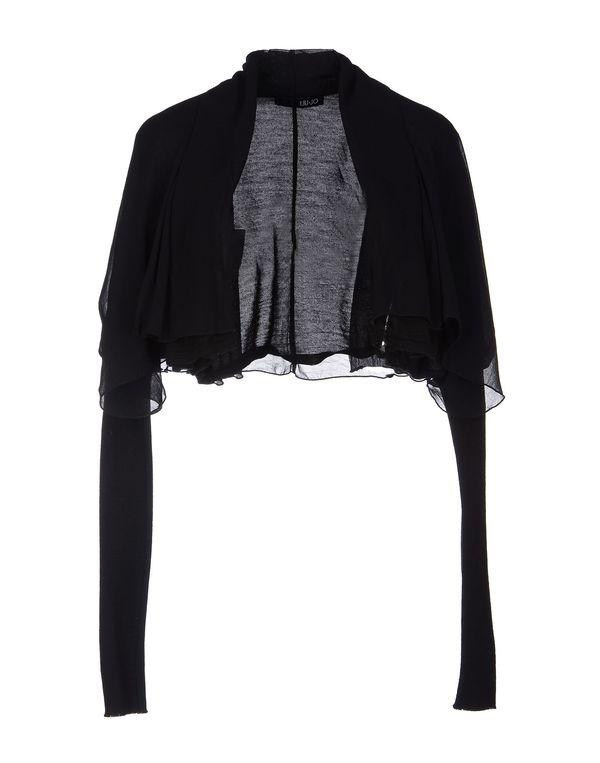 黑色 LIU •JO 圆领针织衫
