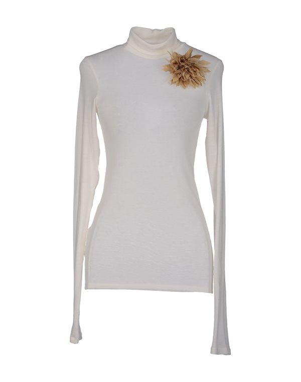 白色 PF PAOLA FRANI 圆领针织衫