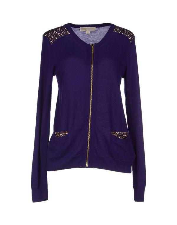紫色 MICHAEL MICHAEL KORS 针织开衫
