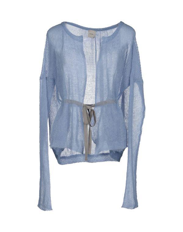 天蓝 ...À_LA_FOIS... 针织开衫