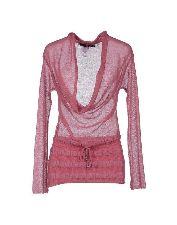 粉红色 LIU •JO 套衫