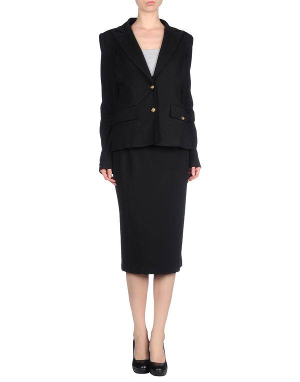 黑色 CLASS ROBERTO CAVALLI 女士西装套装