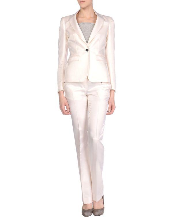 象牙白 MAURO GRIFONI 女士西装套装