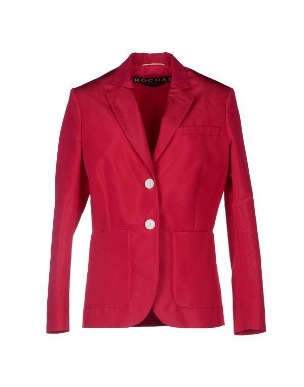 石榴红 ROCHAS 西装上衣