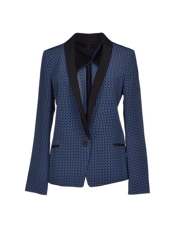 蓝色 TIBI 西装上衣