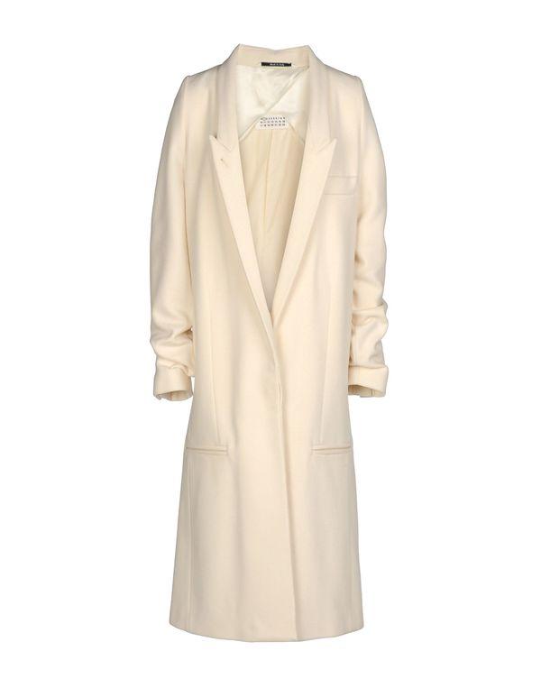 象牙白 MAISON MARTIN MARGIELA 1 大衣