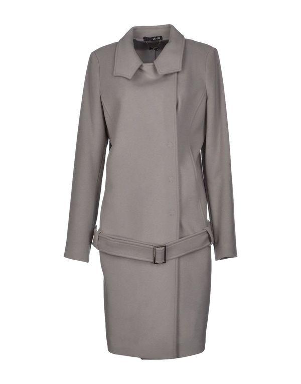 淡灰色 LIU •JO 大衣