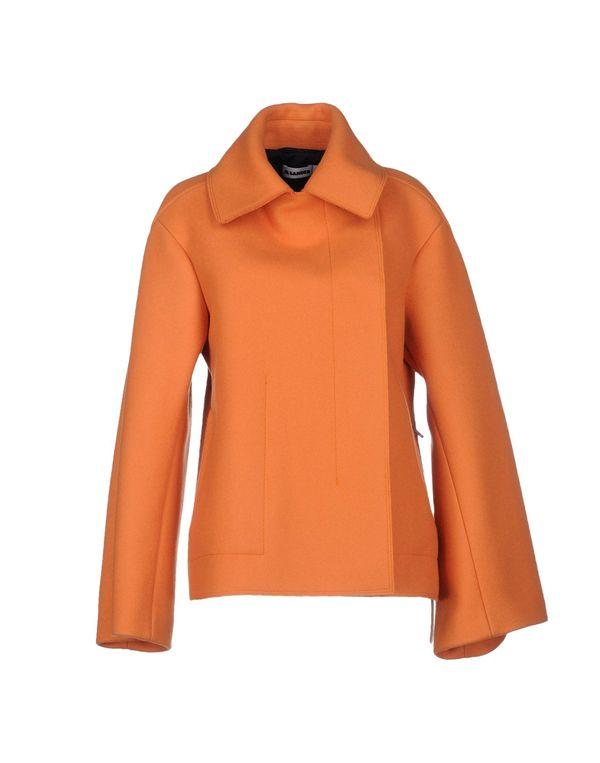 橙色 JIL SANDER 大衣