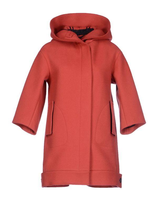 珊瑚红 JIL SANDER 大衣