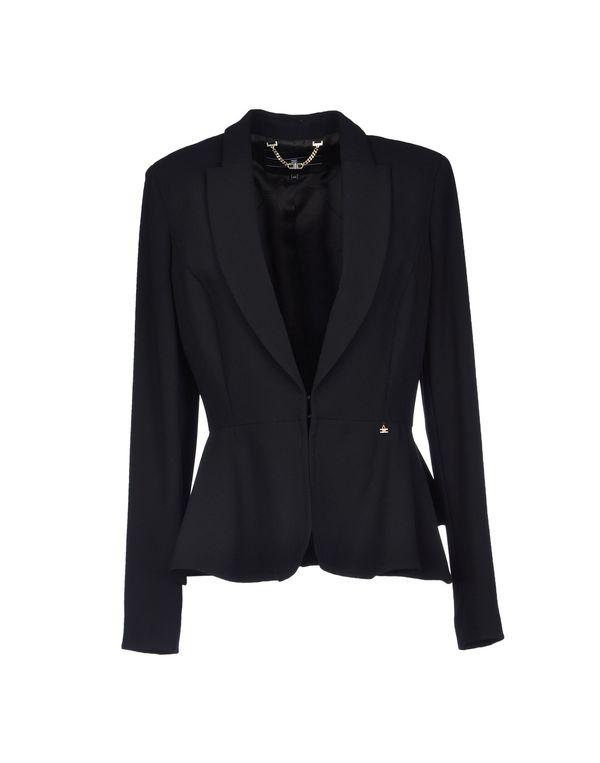 黑色 ELISABETTA FRANCHI 24 ORE 西装上衣