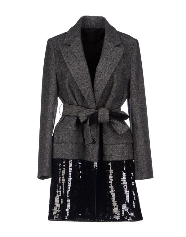 铅灰色 PINKO BLACK 外套