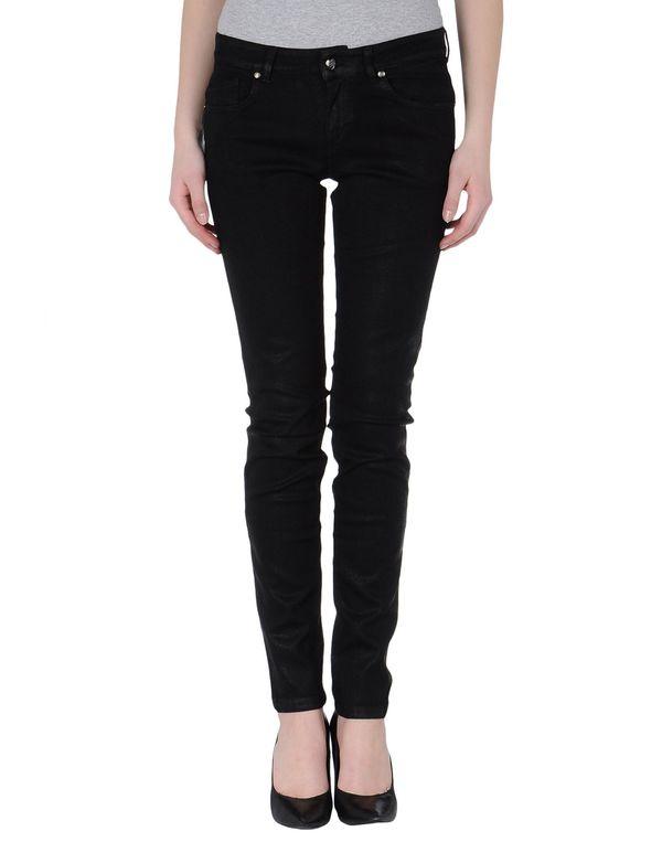 黑色 BLUMARINE 牛仔裤