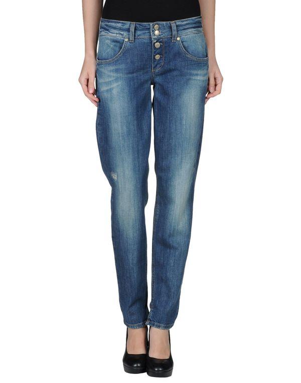 蓝色 LIU •JO JEANS 牛仔裤