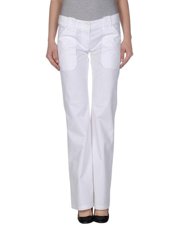 白色 ARMANI JEANS 牛仔裤