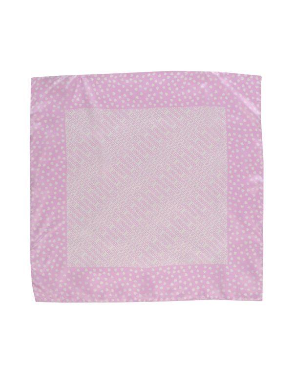 浅紫色 DOLCE & GABBANA 方巾