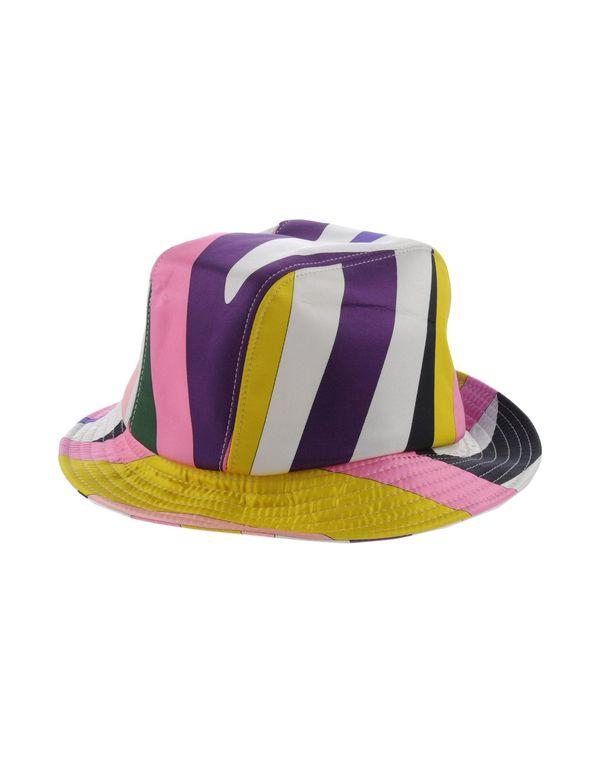 粉红色 EMILIO PUCCI 帽子